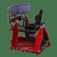 Hydraulic Racing Simulator Chair Folding Padded Patio Chairs Motion Sim Cz 4dof Simulators