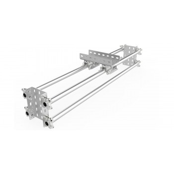 Slideway, manual, 600mm long, kit