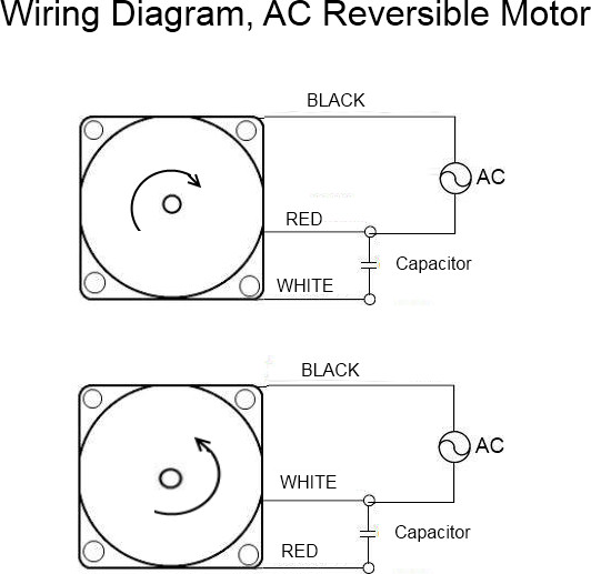 Reversible Motor Wiring Diagram Wiring Wiring Diagram And Schematics