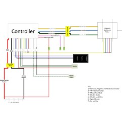 Brushless Motor Wiring Diagram 3406e Jake Brake 1 5kw Gear 60v Plus Controller And Accessories
