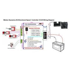 36v Battery Wiring Diagram 2002 International 4300 12v Bi Directional Dc Speed Controller 50a