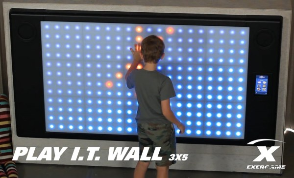 Interactive Game Wall