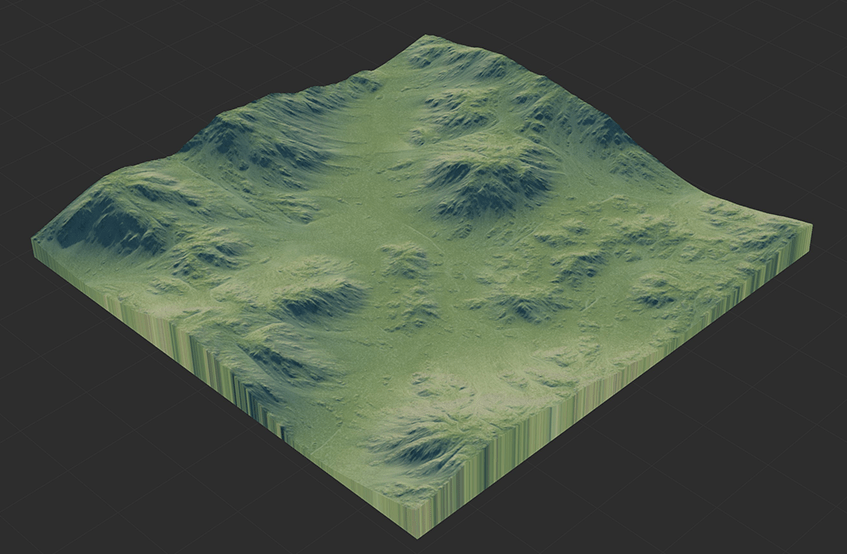 Height Map Rolling Hills Height Map