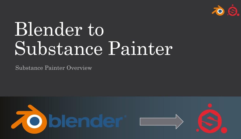 blender to substance painter