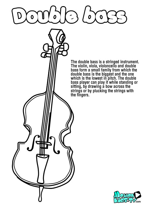 Music educational resources. Stringed instruments