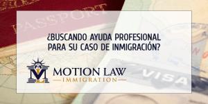 ¿Necesita ayuda y guía durante su proceso de inmigración?