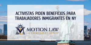 Nueva York: Defensores piden algún tipo de alivio para trabajadores inmigrantes
