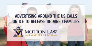 Billboards in four states ask ICE to free immigrant families