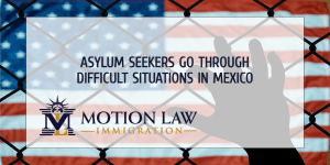 Asylum seekers face risky situations in Mexico