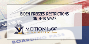 The Biden administration freezes restrictions on business immigration
