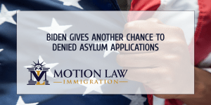 Asylum seekers whose applications were denied have another chance