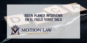 Administración de Biden planea apelar el fallo de DACA