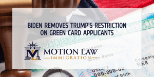 Biden reverses Trump's order to suspend Green Card issuance