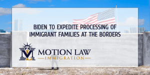 Biden's plan to process immigrant families at the borders