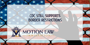 CDC issues statement supporting border restrictions