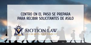 Centro en El Paso abre sus puertas para los solicitantes de asilo