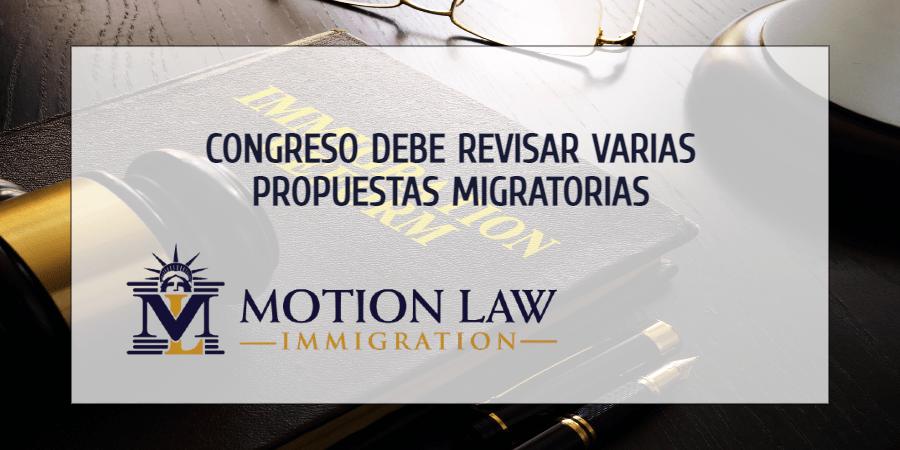 Controversia en el congreso relacionada a la inmigración