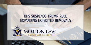 The Biden administration suspends expedited deportation policy