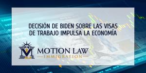 Universidad celebra la decisión de Biden sobre las visas de empleo