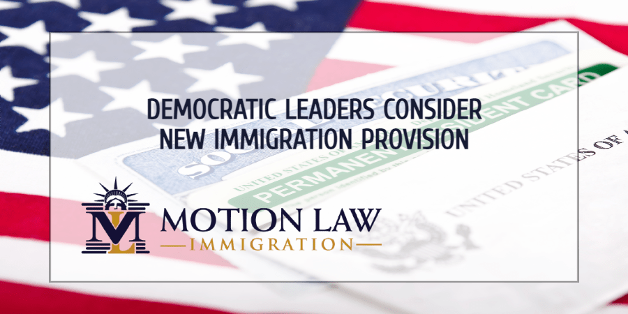 Democratic leaders plan to introduce new immigration proposal