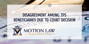 TPS holders against the courts decision