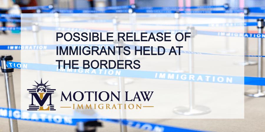 Coronavirus alert in US immigration centers Lawsuit