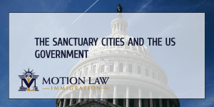 immigration situation in the US' sanctuary cities