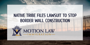 Trump's border wall is going through native tribe's territory