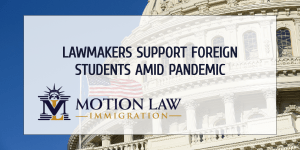 Lawmakers support the OPT program during pandemic