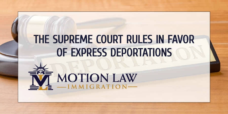 Express deportations are valid in some asylum cases