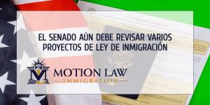 Senado debe revisar proyectos de inmigración recientemente aprobados por la Cámara