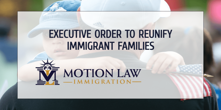 President Biden issues executive order to reunify immigrant families