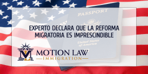 Director de instituto importante comenta acerca de la reforma migratoria