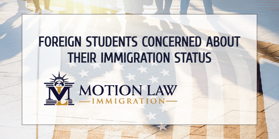 Delays in immigration processes affect international students