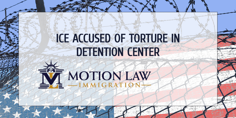 Immigrants file legal complaint against physical abuse in ICE's detention center
