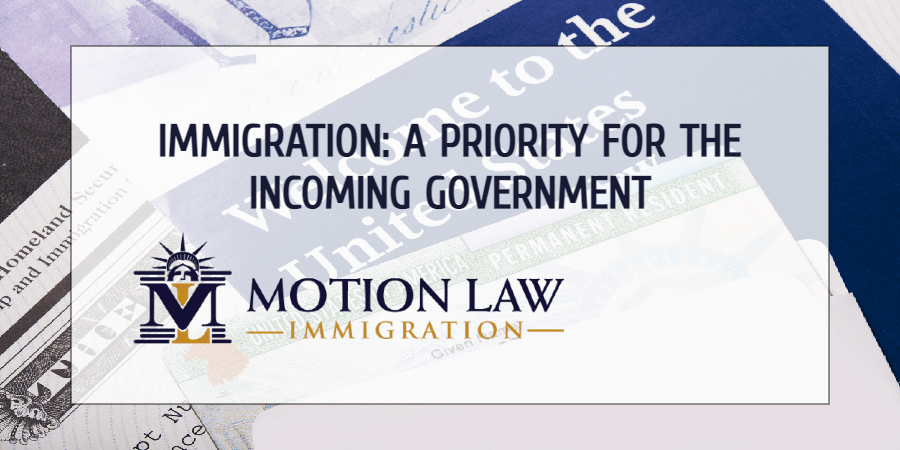 The Biden government to present an immigration bill