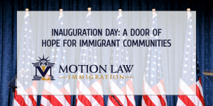 Immigrant communities and advocates celebrate Inauguration Day