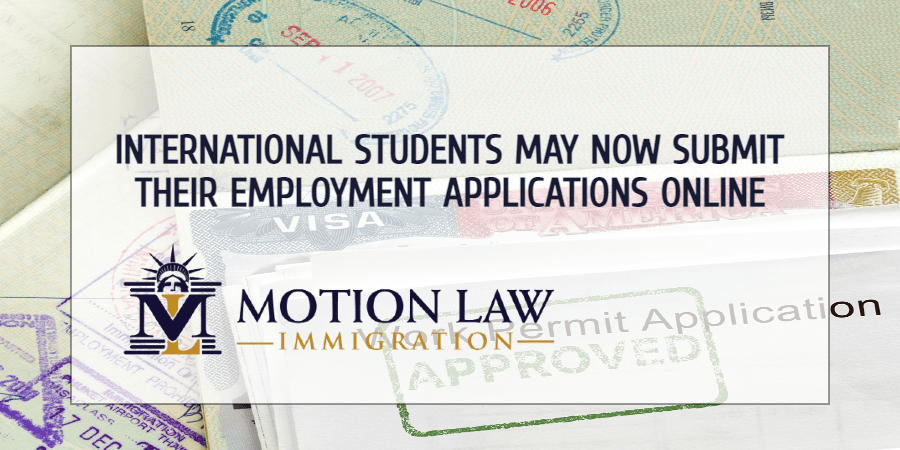 USCIS: International students may submit their employment applications now