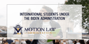The US could open its doors to international students again