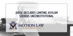 Judge rules against limiting asylum seekers at the borders