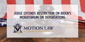 Judge extends order on deportation pause