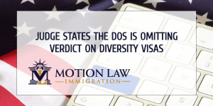 The DOS must issue Green Cards related to DVL