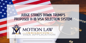 Judge overturns Trump's proposed rule to select H-1B visas