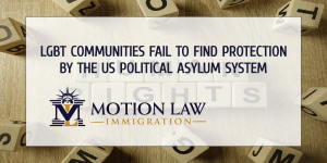 LGBT people stranded due to US' political asylum policies