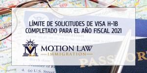 Límite de aplicaciones para trabajadores extranjeros especializados durante el año fiscal 2021
