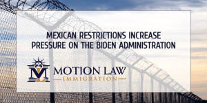 Mexican restrictions increase current border controversy