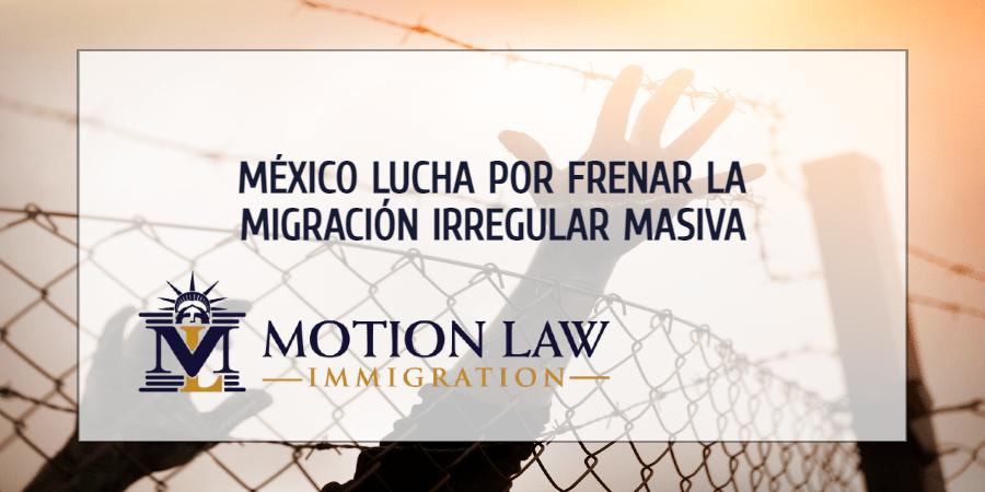 México está llegando al límite en la batalla por frenar la migración irregular