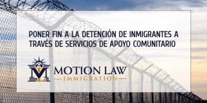 Reporte revela que hay otras alternativas en vez de la detención de inmigrantes