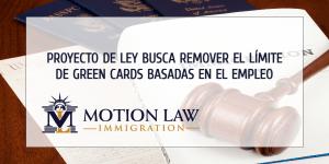 Ley EAGLE: El proyecto que removería el límite de Green Cards basadas en el empleo