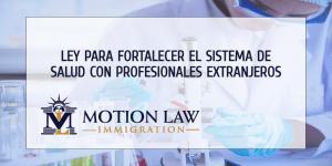Proyecto de ley podría beneficiar a profesionales extranjeros y al sistema de salud